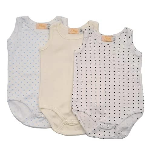 Babybody voor pasgeborenen, jongens, cadeau voor geboorte, pedaal, 3 stuks, gemaakt in Italië, 0-36 maanden