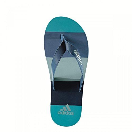 adidas eezay striped - Chanclas para Hombre, Azul - (AZUBAS/AZUMIS/VERTAC) 39 1/3