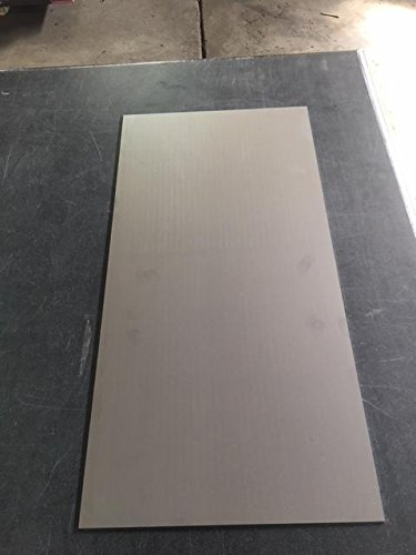 1/8'' Stainless Steel Plate, 12'' x 24'' Rectangle, 304 SS, 2B Mill Finish by 2TwentyTwo Steel Designs, LLC