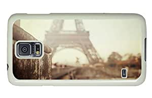 Hipster Samsung Galaxy S5 Case underwater paris eiffel tower blurred PC White for Samsung S5