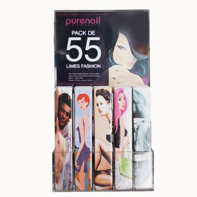 Purenail 55 ;Fashion Buffers With Case Nail - Faire Fashion