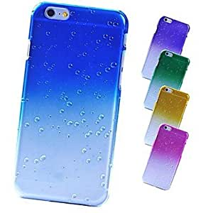 QYF Raindrop Frosted Back Case for iPhone 6 (Assorted Color) , Yellow