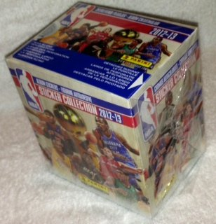 2012-13 Official Panini NBA Sticker Collection - 50 Sticker Packets Per Box (7 Stickers Per Pack)