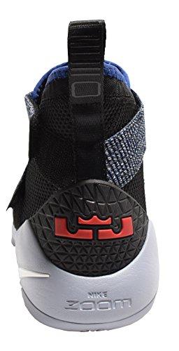 Nike Lebron Soldier Xi 897644 005 Nero / Bianco / Blu Royal Mens Scarpe Da Basket (10)