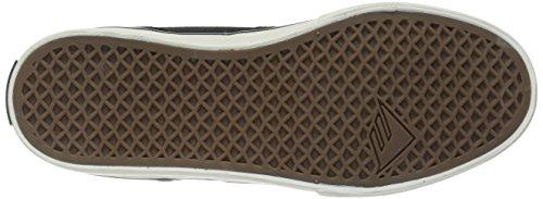 EmericaProvost Slim Vulc X Toy Machine - Zapatillas de Deporte hombre Negro/Marrón