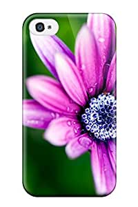 For Alicsmith Iphone Protective Case, High Quality For Iphone 4/4s Flower Skin Case Cover