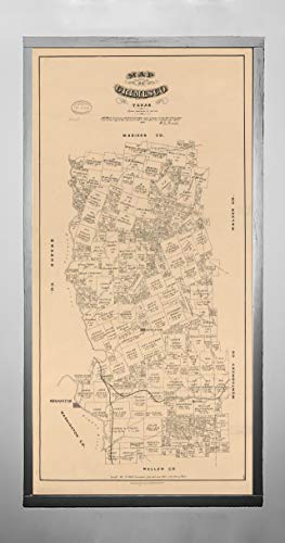 Map Of Texas 1880.Galleon 1880 Map Of Grimes County Texas Shows Land Ownership