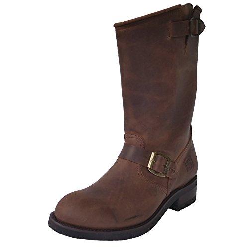 Sendra 2944 Engineer Boots nubuk brown