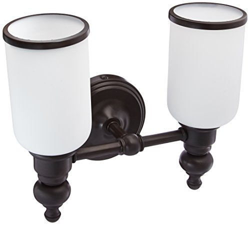 Elk Lighting 11591/2 Bristol Collection 2 Bath Light, Oil Rubbed Bronze (2 Elk)