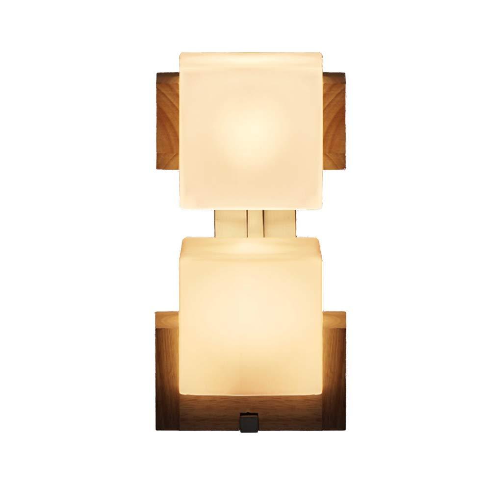 Lampade da Parete Faretti da Muro LED Rustiche per Esterno LED Lampada da Parete in Rovere con Testa di Bar A Forma di Bar Ristorante ZHAOYONGLI