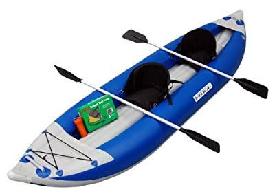 Maxxon Two Man Non Self-Bailer Inflatable Kayak