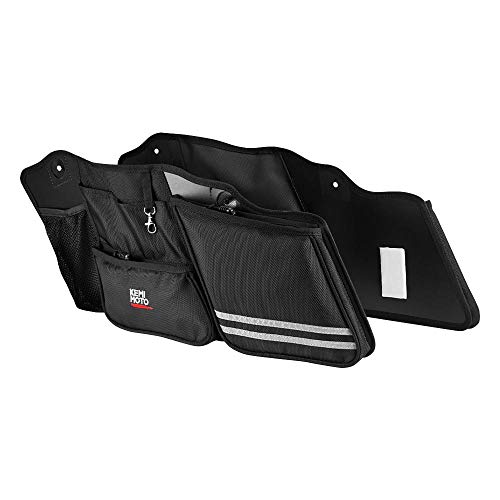 Street Glide Saddlebag Organizers, 2 Pack for 2014-2019 Road King Road Glide Electra Glide Saddle Bag Organizers