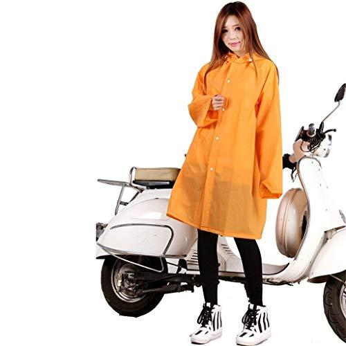 Y Eléctrico Usable Del Targogo Mujeres Modernas Slim Motocicleta Cazadora color Impermeable Con Larga Coche A L Y Capucha 4FOvB
