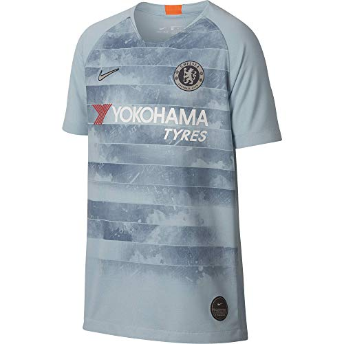(Nike Chelsea 2018 Youth Third Jersey (Ocean Bliss, Youth Medium))