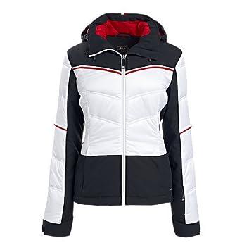 Fila Marietta - Chaqueta de esquí para mujer, color negro y ...