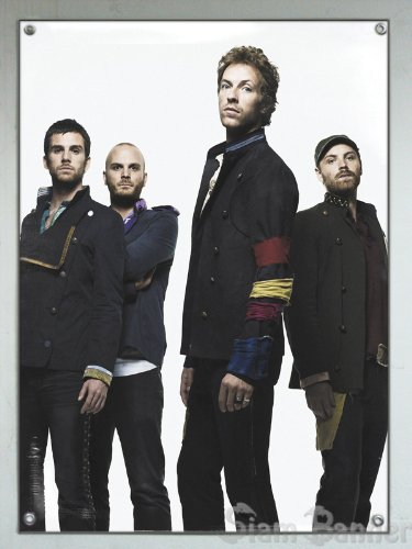 New! Coldplay X&Y Rush Blood Vinyl Banner Poster