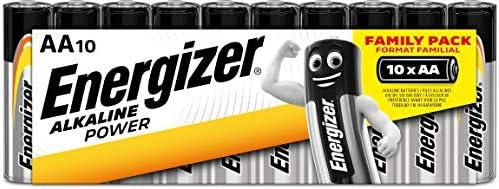 Pilas alcalinas AA Energizer 32 Unidades AA 16 Unidades