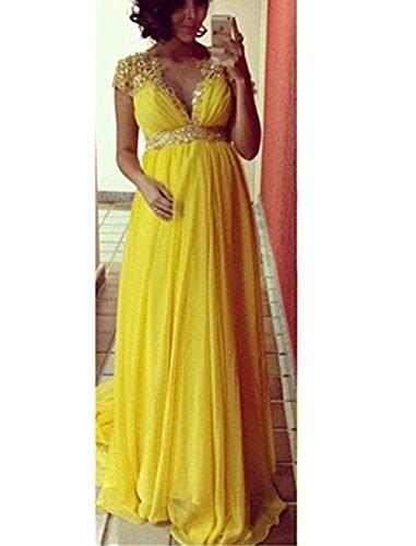 56a876d0df30d Ri Yun Women's Beaded Rhinestone A Line Pregnant Women Maxi Dresses ...
