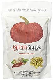 Superseedz Somewhat Spicy Pumpkin Seeds, 5 oz