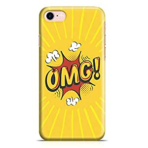 Loud Universe iPhone 8 Case Comic Omg Clear Edge Durable Wrap Around iPhone 8 Cover
