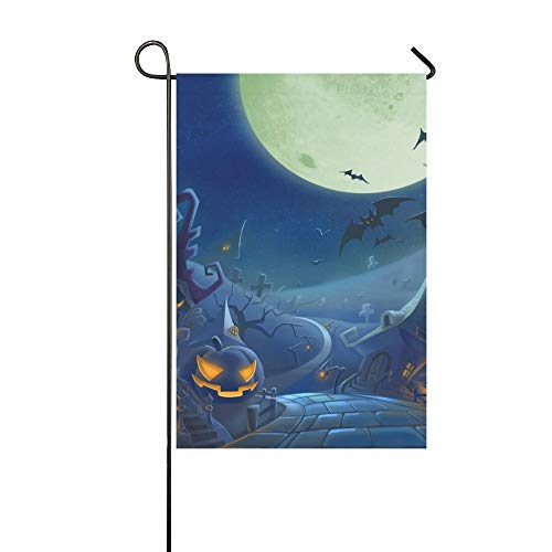 Home Decorative Outdoor Double Sided Halloween Day K Hd Wallpapers Freecomputerdesktop Garden Flag,house Yard Flag,garden Yard Decorations,seasonal Welcome Outdoor Flag 12 X 18 Inch Spring Summer Gift -