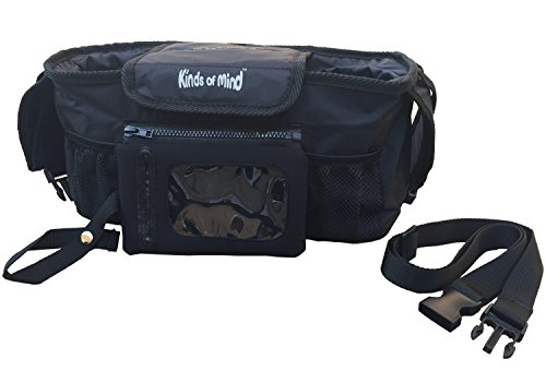 Kinds of Mind Universal Baby Stroller Organizer And Backseat Storage Bag