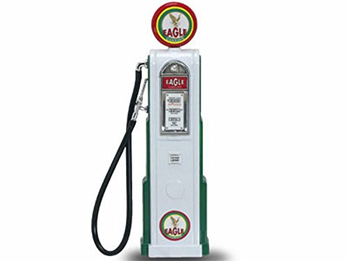 - 98611 Yatming - Digital Gas z00r70e83c2 Pump Eagle 1 (1/18 scale diecast 9l341t97 model, White) 98611 diecast car model 98611 YATMING ROAD SIGNATURE - Digital Gas Pump Eagle 1