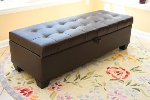 Price Tracking For Home Life Storage Coffee Ottoman Dark