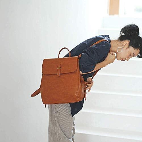 SMEJS Zaino da Donna - Borsa A Tracolla alla Moda Zaino in Pelle PU da Donna Zaino da Donna Borsa da Viaggio