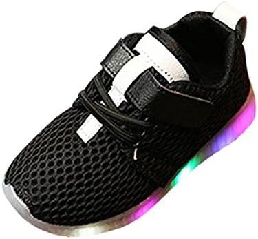 Sannysis Zapatos Bebe niño Invierno Vestir Casual, LED Zapatillas de Colores de Luces Transpirables Zapatos