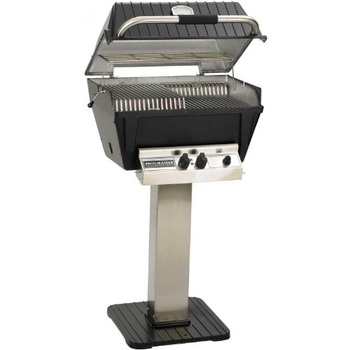 Broilmaster P4-xfn Premium Natural Gas Grill On Stainless Steel Patio ()