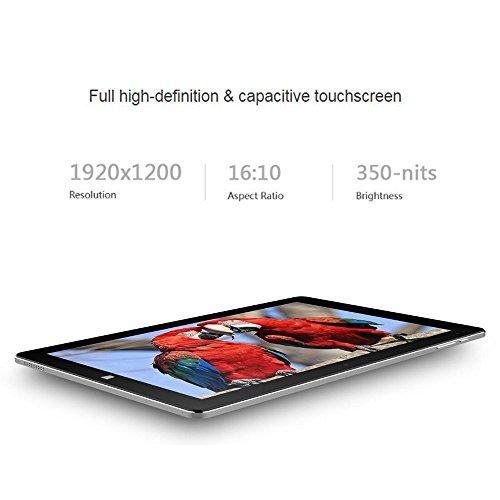 ChuwiUSA New Hi10 PRO 10.1'' FHD IPS Windows 10/Android 5.1 Dual Boot 2-in-1 Tablet PC Intel X5 Quad Core 4GB 64GB Bundle Detachable keyboard Docking by CHUWI (Image #2)