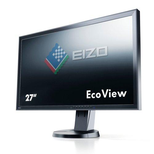 EIZO FlexScan 27インチカラー液晶モニター 2560x1440 DVI-D 24Pin DisplayPort ブラック FlexScan EV2736W EV2736W-FSBK