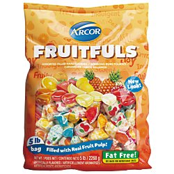 Filled Candy (Assorted Fruit-Filled Candies, 5 Lb Bag)