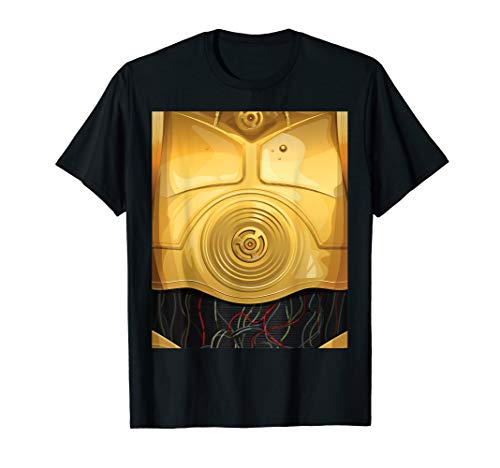 Star Wars C-3PO Halloween Costume  T-Shirt -