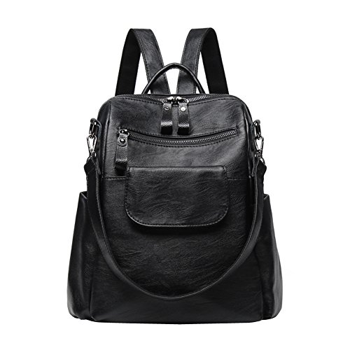 Trend Soft Backpack Travel Wild Casual Xks Fashion Leather Simple 4f85nqw