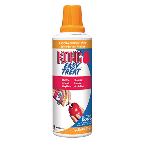 KONG Stuff'N Easy Treat, 8-Ounce, Bacon and Cheese (Cheese Stuff)