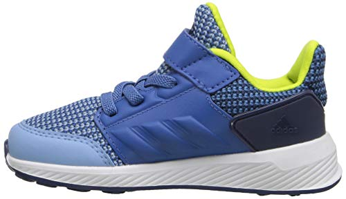 adidas Performance Boys' Rapidarun, Ash Blue/Trace Royal/Noble Indigo, 8 M US Toddler ()