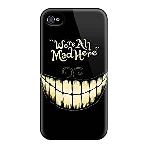 Alice In Wonderland We Are All Mad Here Cases Compatible With Iphone 6plus/ Hot Protection Cases