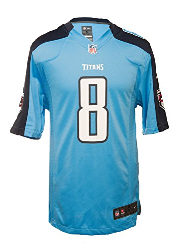 Nike Men's Tennessee Titans Marcus Mariota NFL Jersey – Blue/Nacy – DiZiSports Store