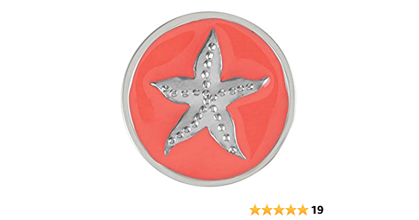 12mm  Mini Sea Shell Clam Shell Starfish Sand Dollar ~ Snap It SKB6647-S  Interchangeable 12mm snap Chunk Snap Bead Button