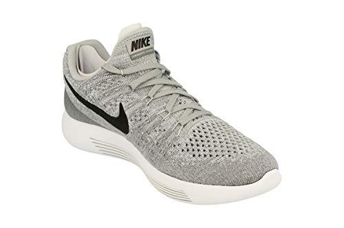 Running Nike black Para Hombre Flyknit Lunarepic Grey Wolf Grey Trail Low 2 Zapatillas cool De 0q0fr7x