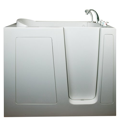 "Ella Deep 46"" High Hydro Massage Walk In Bath (305503RW),..."