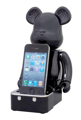 Medicom Bearbrick iPod/iPhone Speaker System (Black Version)