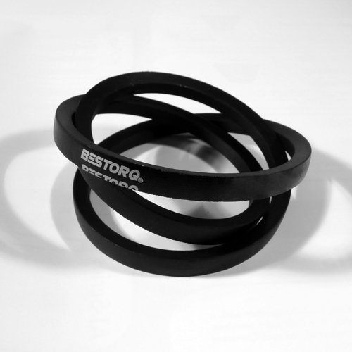 36 Length x 0.66 Width x 0.44 Height Black Wrapped BESTORQ B33 or 5L360 Rubber V-Belt