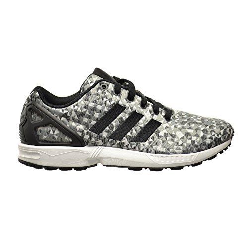 Adidas ZX Flux Weave Men's Shoes Running White/Core Black/Solid Grey b34472 (11 D(M) US)
