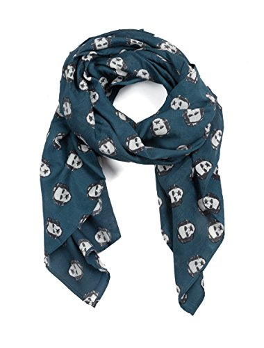 - Out of Print Edgar Allan Poe-ka Dots Lightweight Scarf