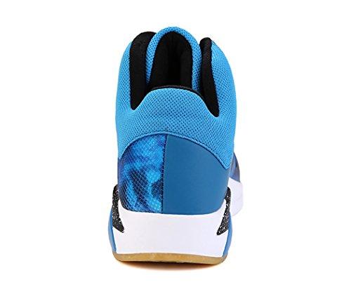 Nr. 66 Stadt Männer Air Shock Absorption Lauf Tennis Schuhe Sneaker Basketball Schuhe Blau