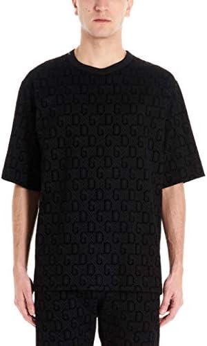 Fashion | Dolce E Gabbana Man G8KN7TG7VCZHN67N Black Cotton T-Shirt | Spring Summer 20