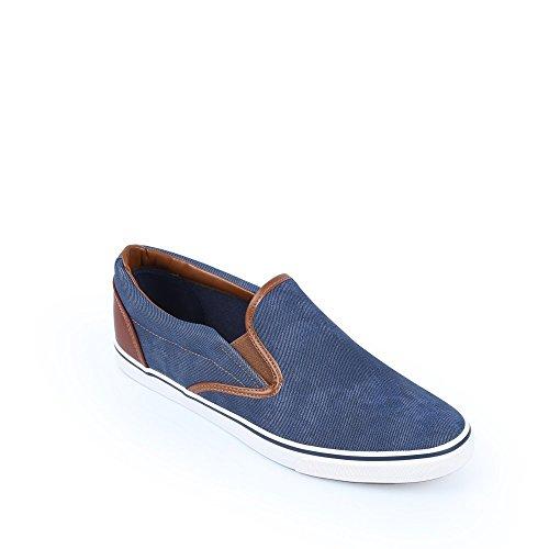 Ideal Shoes Slippers für Männer Lazaro, Blau - Blau - Größe: FR 41